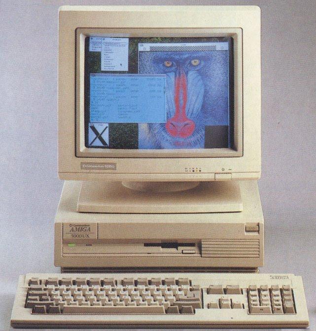 Commodore amiga 3000UX