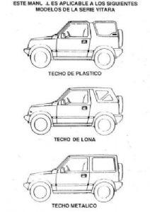 Manuales de mecánica y taller: Jeep Suzuki Vitara Manual