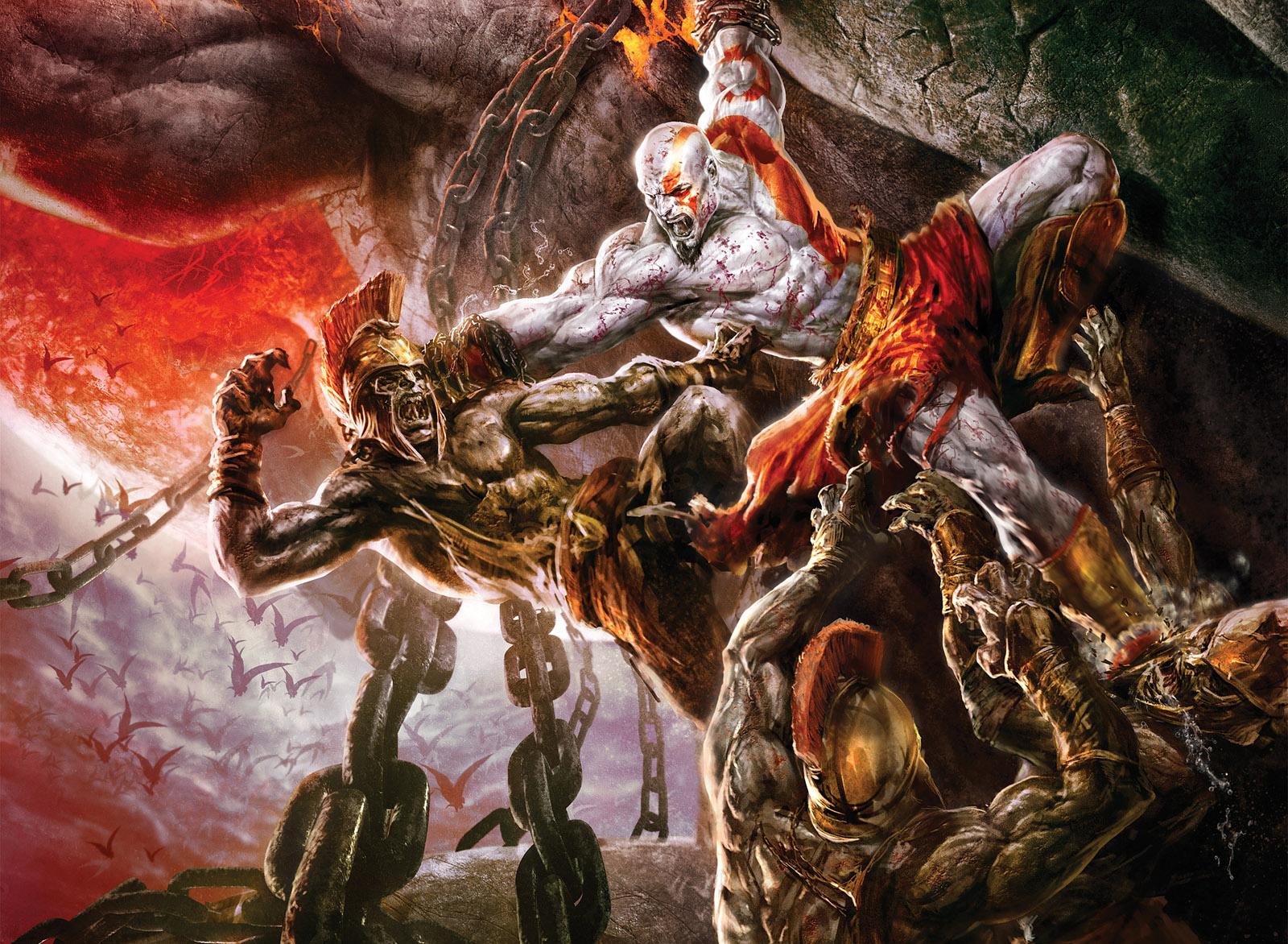 Video Game Gallery God Of War 2 Wallpaper