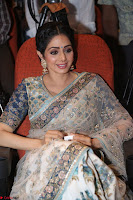 Sri Devi in designer saree stunning beauty at the launch of MOM movie Trailer~  Exclusive 134.JPG