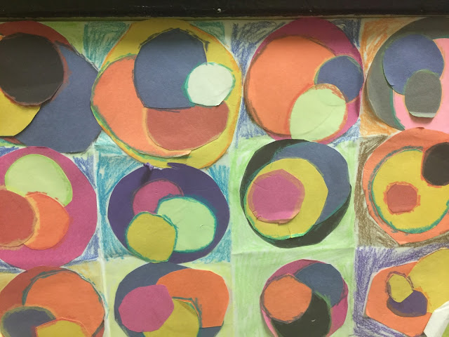 teach place value with kandinsky's circles