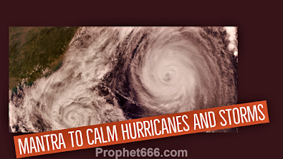 Hindu Mantra to Calm Hurricanes and Storms