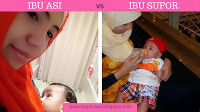 Ibu ASI vs Ibu SuFor