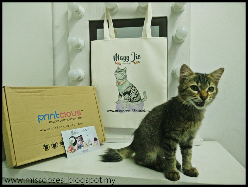 Customize Tote Bag dari Printcious