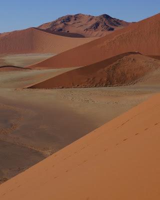 dunas em Sossusvlei namibia