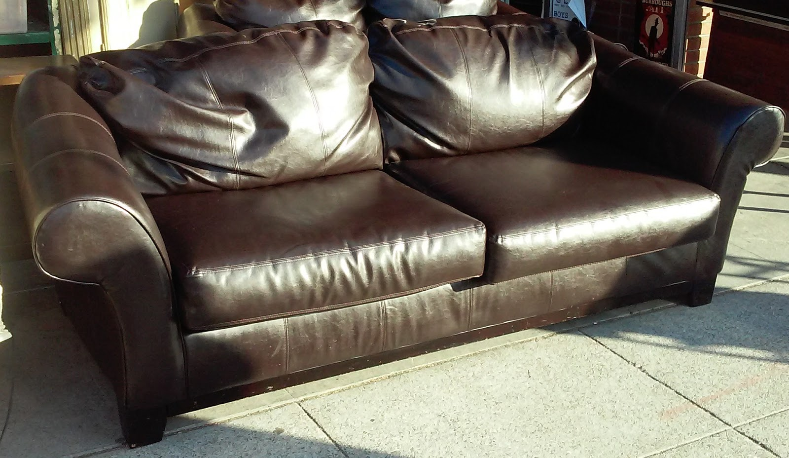 you know didn pin couch things leather t arrishomes pleather about faux sofa
