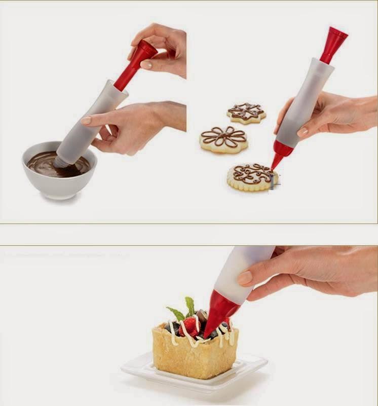 Pensil Gambar Dekorasi Hias Makanan Kue Roti Tart Cake