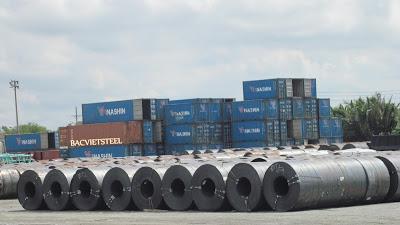 Xuất khẩu sắt thép quý 1/2019 tăng trưởng khả quan