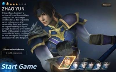 Dynasty Warriors Unleashed Apk Mod v1.0.10.3 (High Attack+Defense)