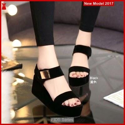 FIDS051 Sandal Wanita Sandal Wedges Triset BMGShop