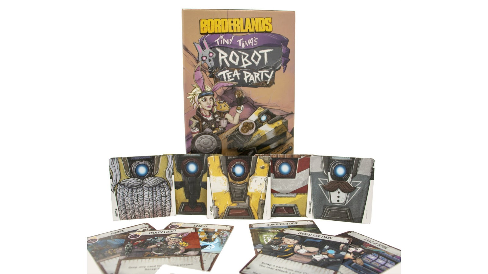 Borderlands Board game Tiny Tinas Robot Tea Party news