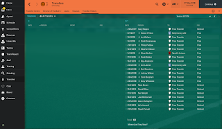 1st season transfers