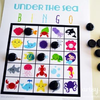 Under Sea Bingo