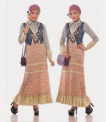 Model baju batik muslim modern terfavorit