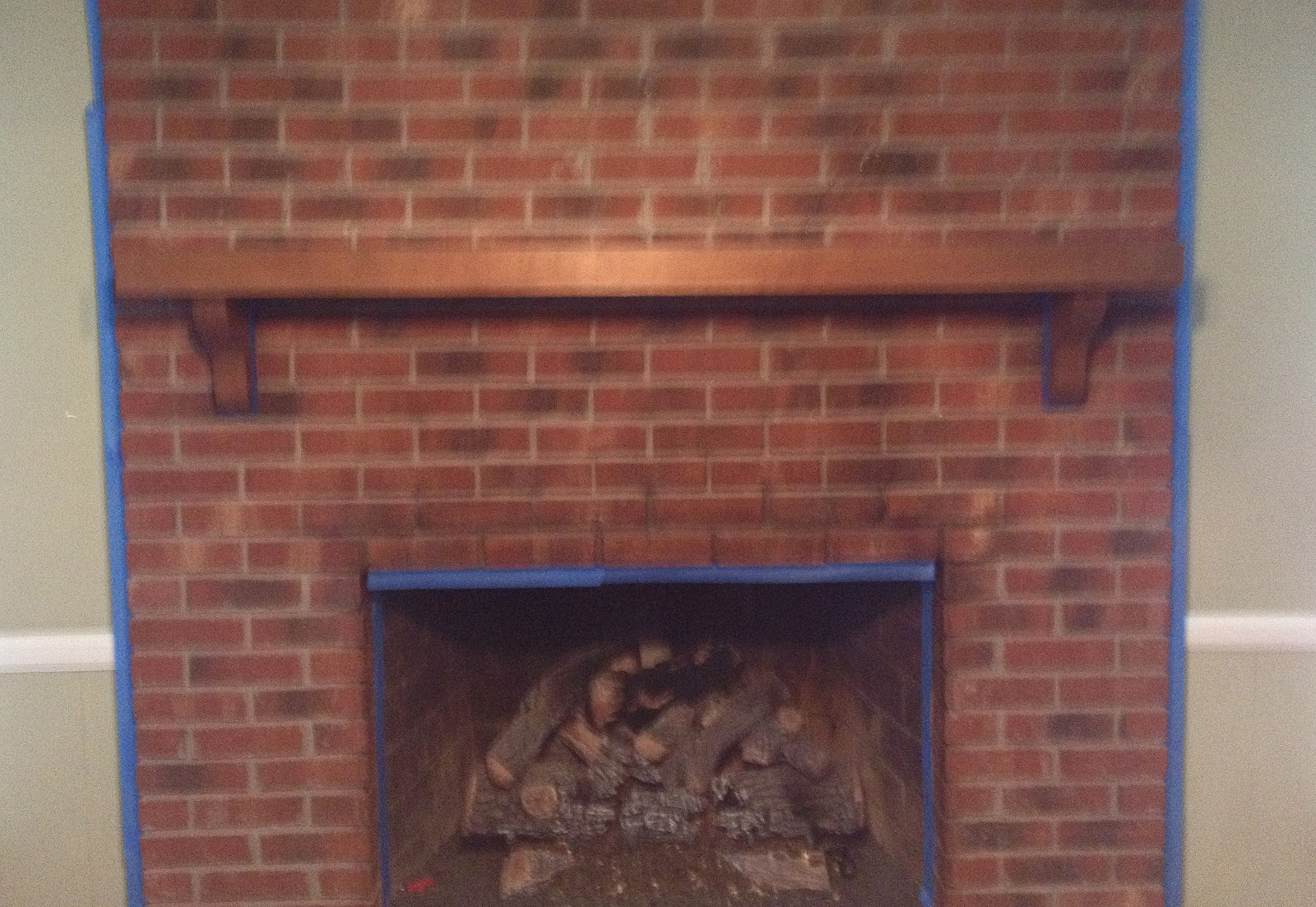 Paint Colors That Go With Red Brick Fireplace Goodbye House Hello Home Blog Decor Coaxing Paint