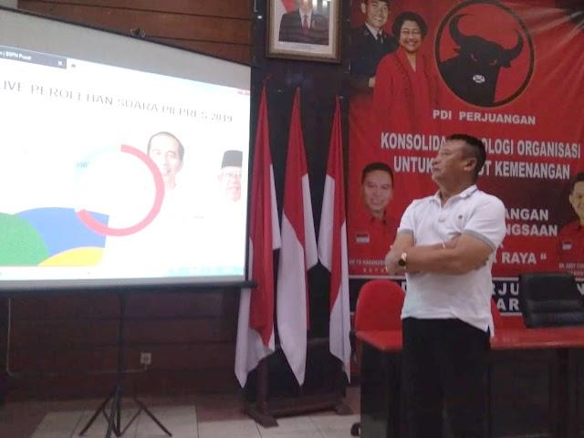 TB Hasanuddin Optimis Kemenangan PDI Perjuangan Jabar Lebihi Target