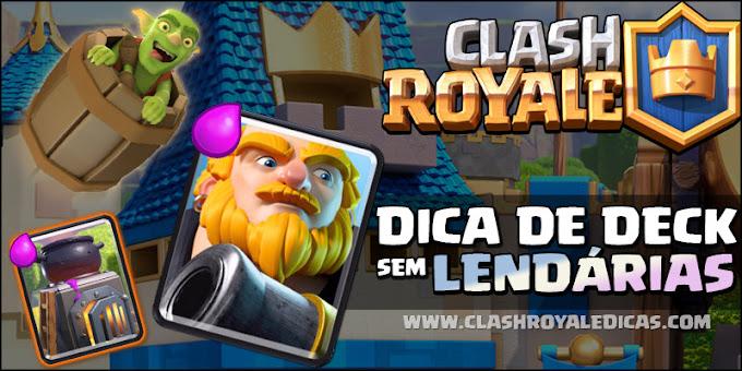 Deck Gigante Real em Clash Royale