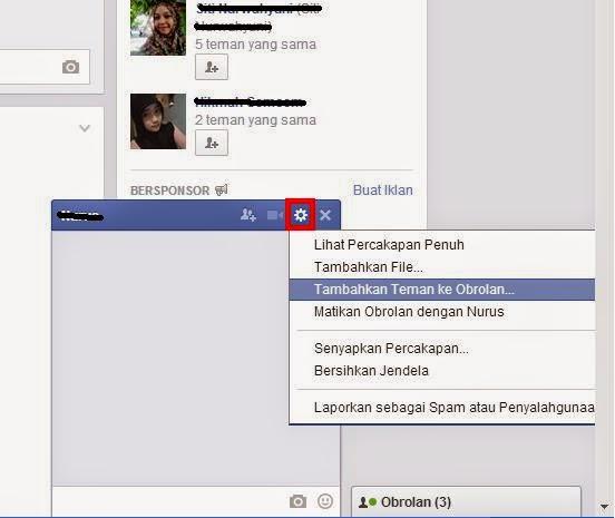 Cara Mengobrol Banyak Teman Dengan Chat Facebook