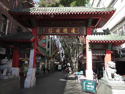 Entrada a Chinatown, Sydney