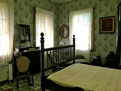 Ulysses S Grant bedroom in Galena, IL