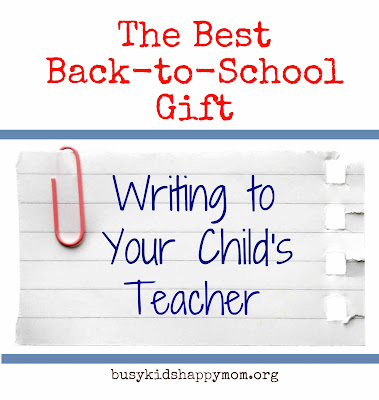 How to Write A Letter Describing Your Child To A Teacher