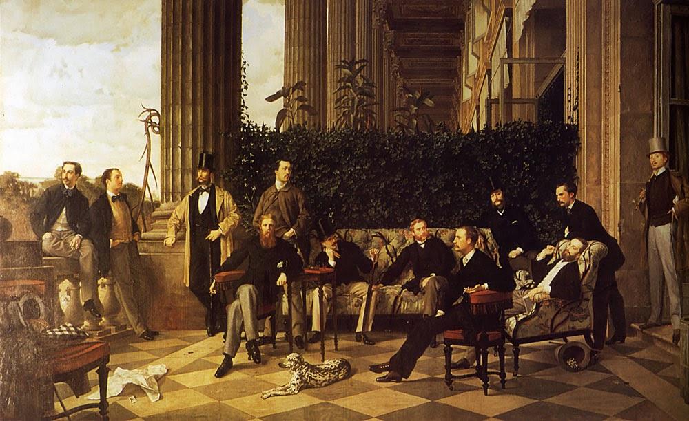 O Círculo da Rue Royale - As principais pinturas de James Tissot ~ Francês