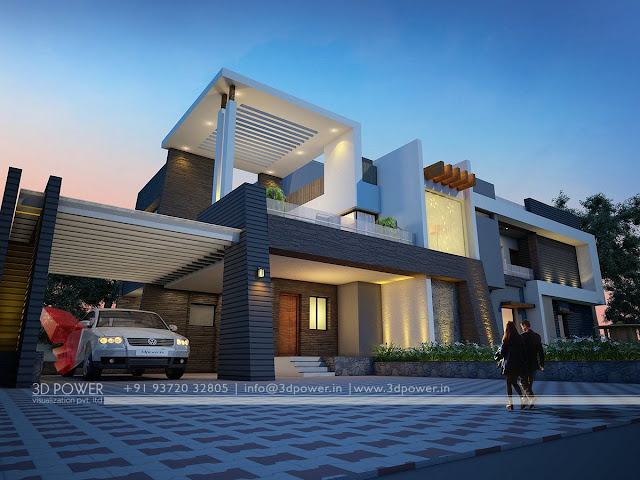 bungalow house design in bangladesh contemporary bungalow exterior designs 476