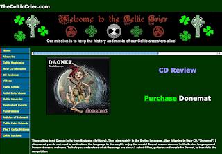 Album Donemat : http://www.thecelticcrier.com/donemat.html