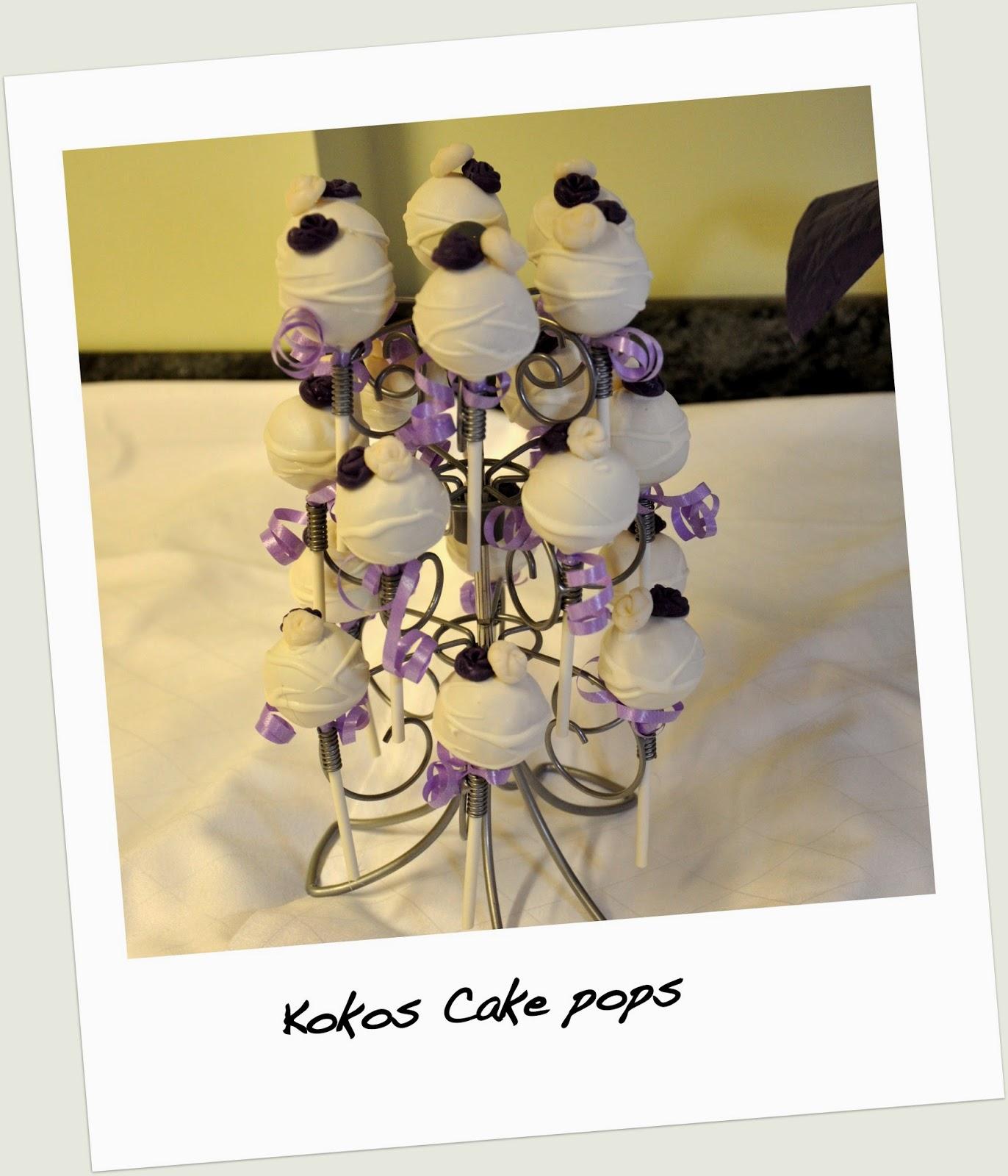 Cake pops mit fertigen kuchen und frischkase