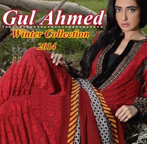 Gul Ahmed Winter Collection 2014