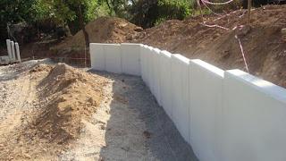 PFE : Etude des méthodes de réalisation et de pose d'un mur préfabriqué pendant la coupure des voies ferroviaires