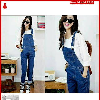 MSF0055 Model Jumpsuit Jeans Murah Olivia Modis BMG