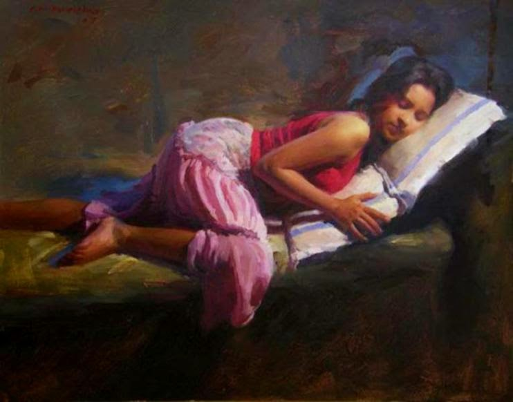 Wonderful Figurative Paintings by Pramod Kurlekar