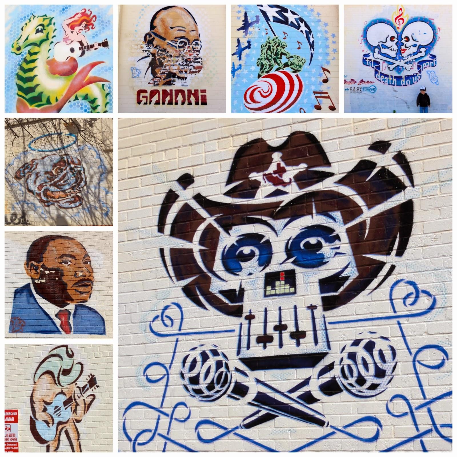 Exploring Austin Street Art: Graffiti, Murals, & Mosaics