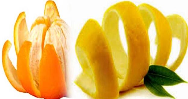 संतरे के छिलके का उपयोग