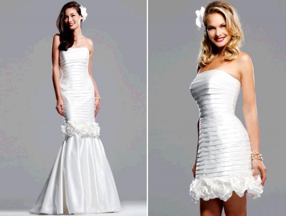 David S Bridal Wedding Gowns: { Ask Cynthia }: Convertable Dresses