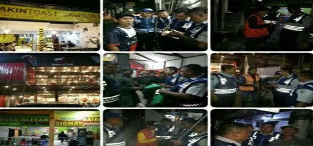razia parkir liar oleh dishub dan polisi