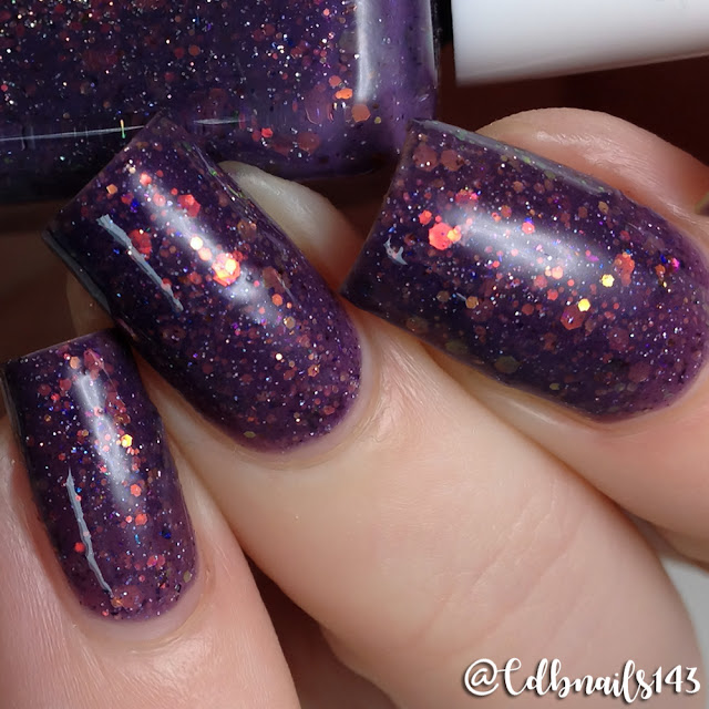 Glam Polish-Much More To you, Than meets The Eye