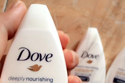 Review Dove Deeply Nourishing Body Wash untuk Kulit Halus dan Kenyal