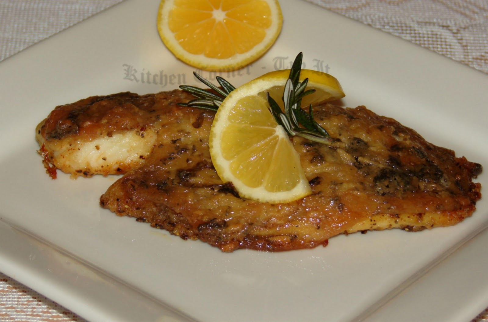 Baked tilapia with mint mayo marinade for Stuffed fish recipes