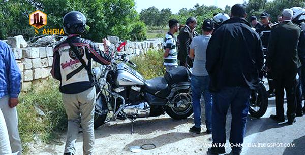 المهدية : وفاة شخص وإصابة آخر في رالي سياحي