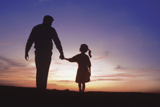 Loving fathers are self-sacrificing and protect their children.
