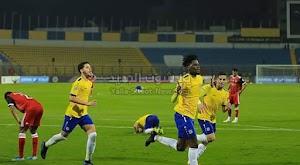 الإسماعيلي يتغلب على نادي الرجاء الرياضي في ذهاب نصف نهائي البطولة العربية للأندية