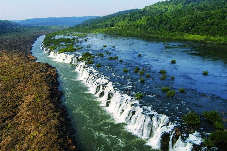 The Water Cooler Today The Top Largest Waterfalls In The World - Top 5 biggest rivers in the world