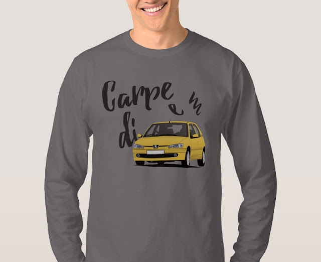Carpe diem with Peugeot 306 GTi-6 shirts