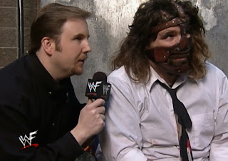 WWE / WWF St. Valentine's Day Massacre 1999 - IHY 27 - Kevin Kelly interviews Mankind