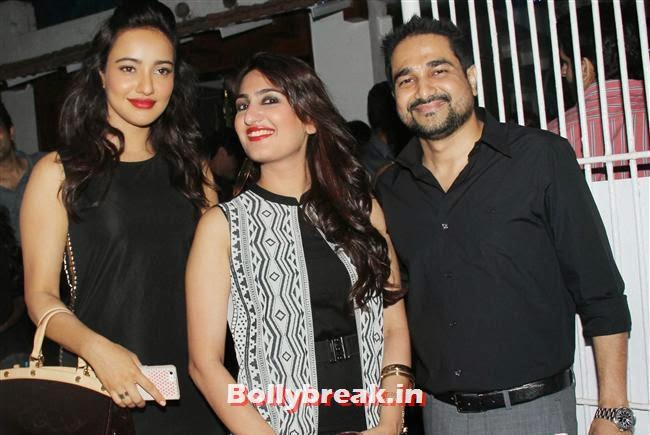 Neha Sharma, Neha Sharma, Huma Qureshi at Filmfare After Party of Aarif Sheikh