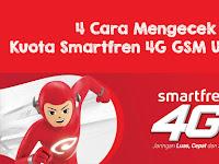 4 Cara Mengecek Kuota Smartfren 4G GSM Unlimited