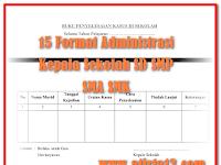 Download Administrasi Guru Lengkap dari SD, SMP dan SMA