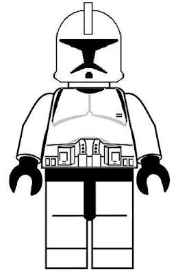 Gambar Mewarnai Lego - 16